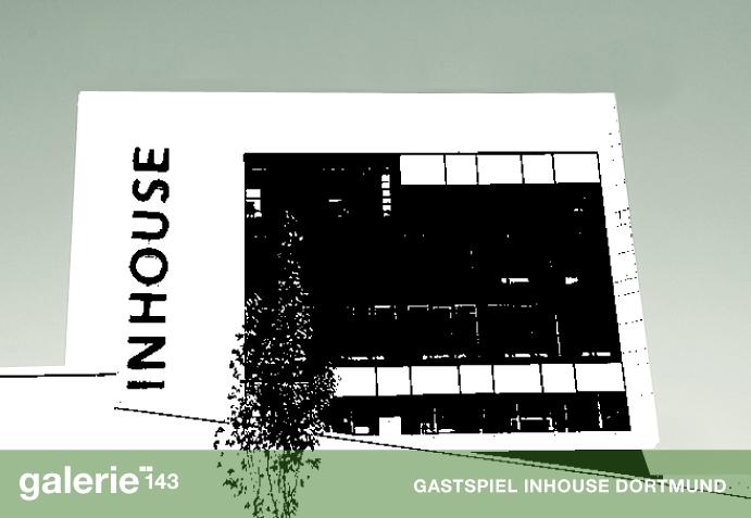 InHouse Stilwerk Dortmund Einladungskarte