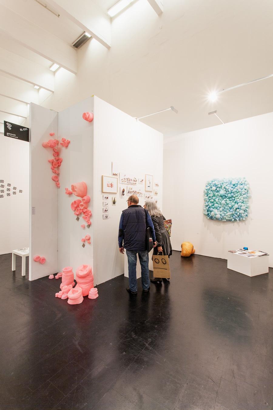 Ausstellungsansicht Bloom 2013